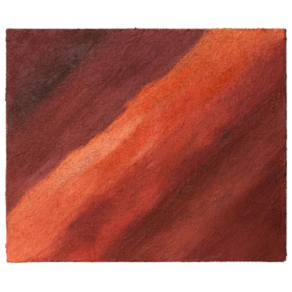 C006 - Mojare Desert - 46 x 55cm 2002 acrylic / sand on canvas - Sold