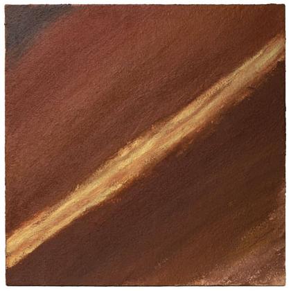C008 - Namibia Desert - 80 x 80cm 2002 acrylic / sand on canvas - Sold