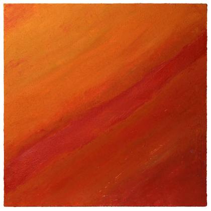 C011 - Thar Desert - 80 x 80cm - 2002 acrylic / sand on canvas - Sold