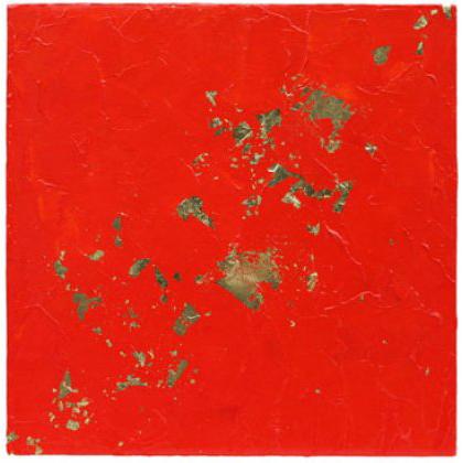 D008 - Flashback - 30 x 30cm - 2005 mixed media on canvas - Available