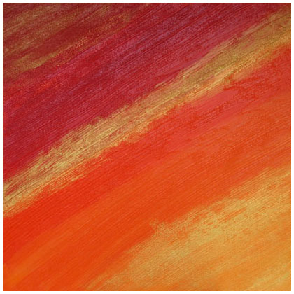 F006 - Retour de Flamme - 80 x 80cm - 2011 mixed media on canvas - Available